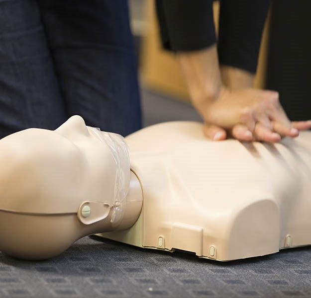 home page first aid training image