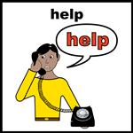 Help on the phone