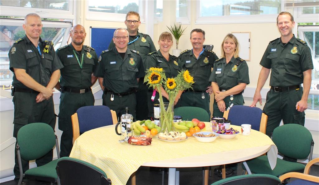 Salisbury ambulance team