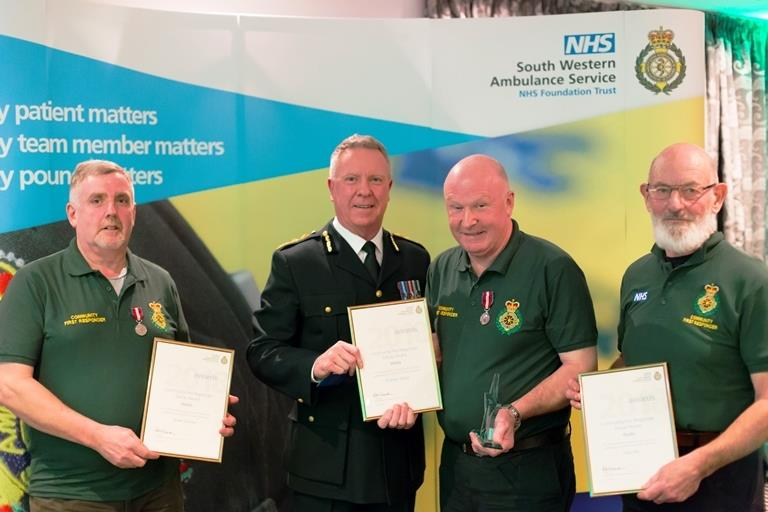 Wells CFR team receive award