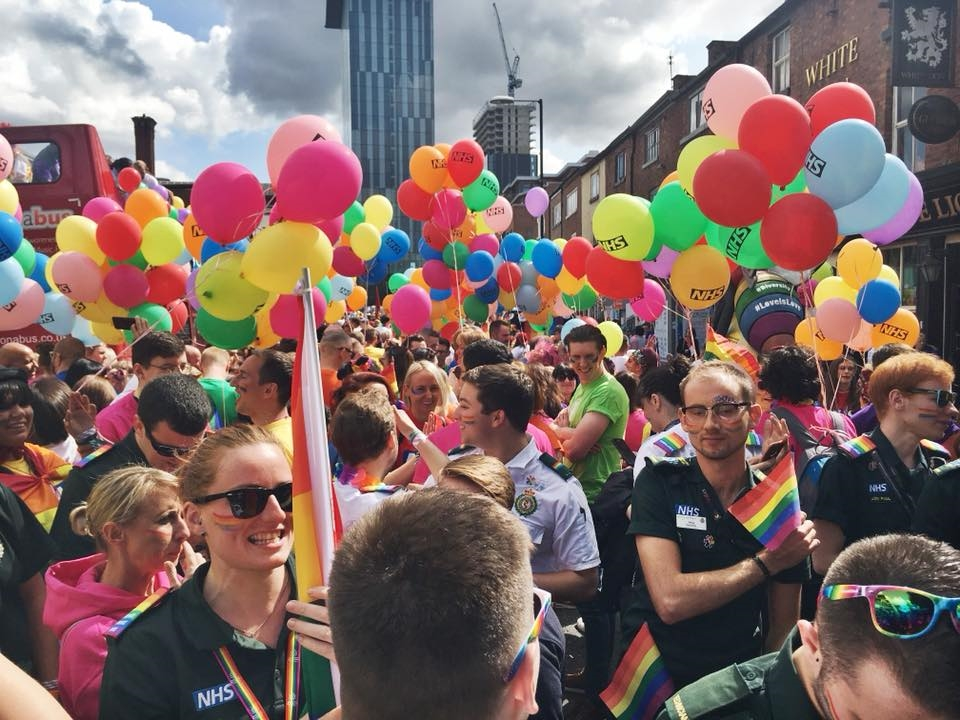 Manchester Pride 2018 - Engagement